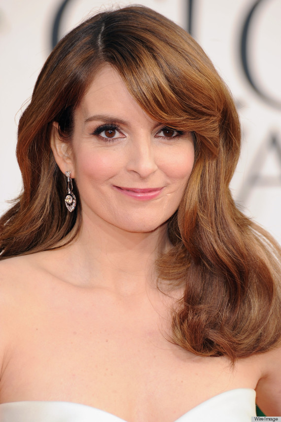 Tina Fey Golden Globes Dress 2013 See The Co Host S