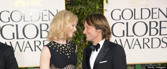 Nicole Kidman Keith Urban Golden Globes