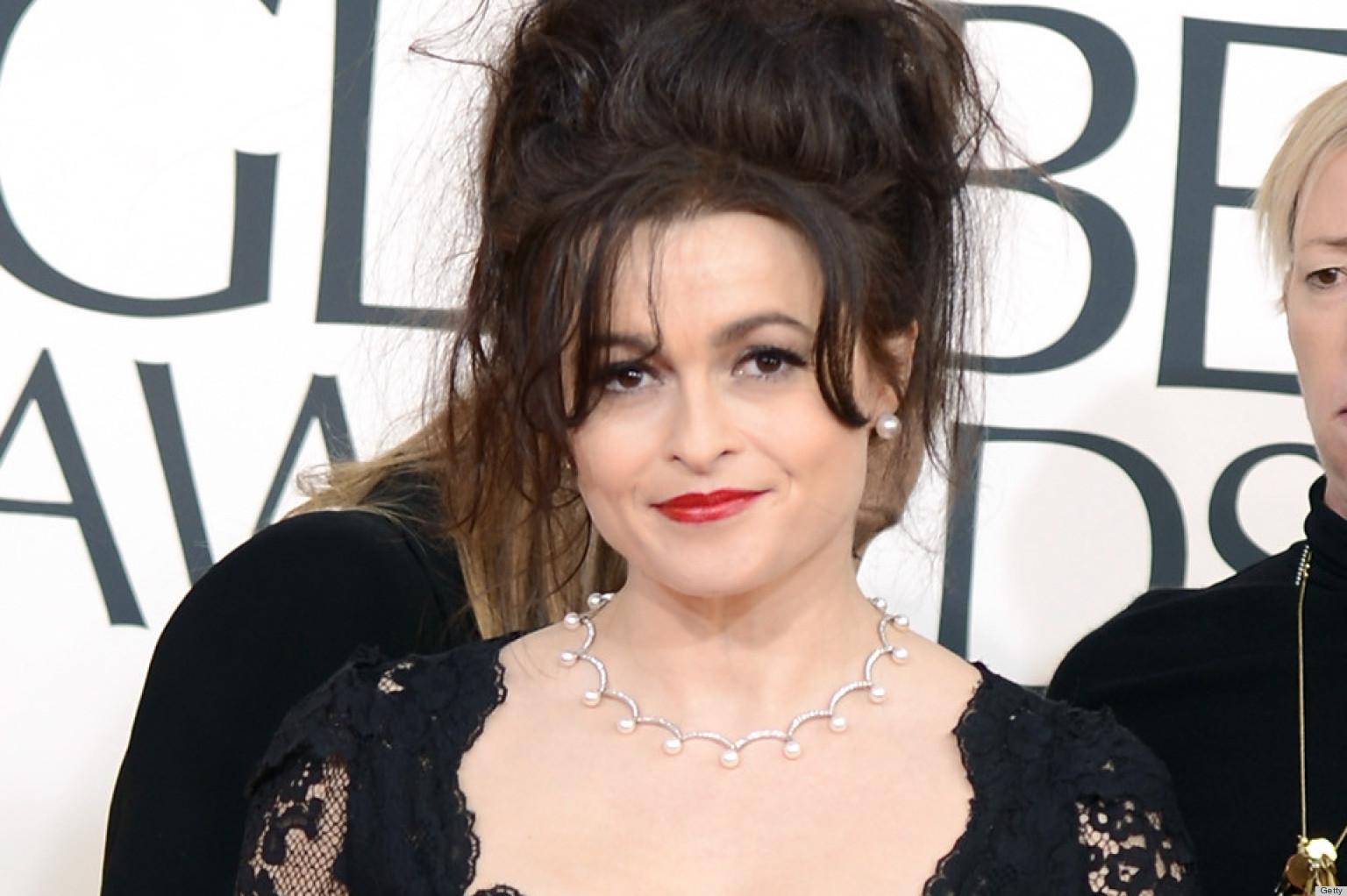 Helena Bonham Carter Golden Globes Dress 2013: See Her Red Carpet Look ... Helena Bonham Carter