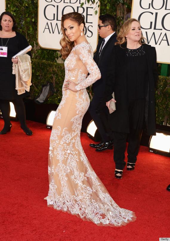 Jennifer Lopez Golden Globes Dress 2013: See Her Red Carpet Gown ...