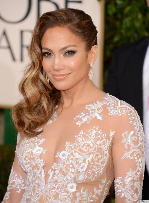 jennifer lopez golden globes 2013