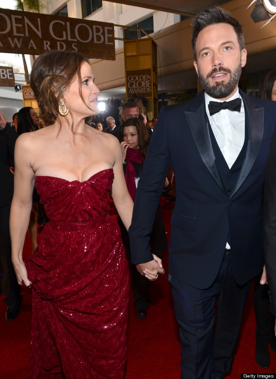 ben affleck jennifer garner golden globes