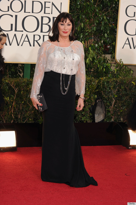 anjelica huston golden globes