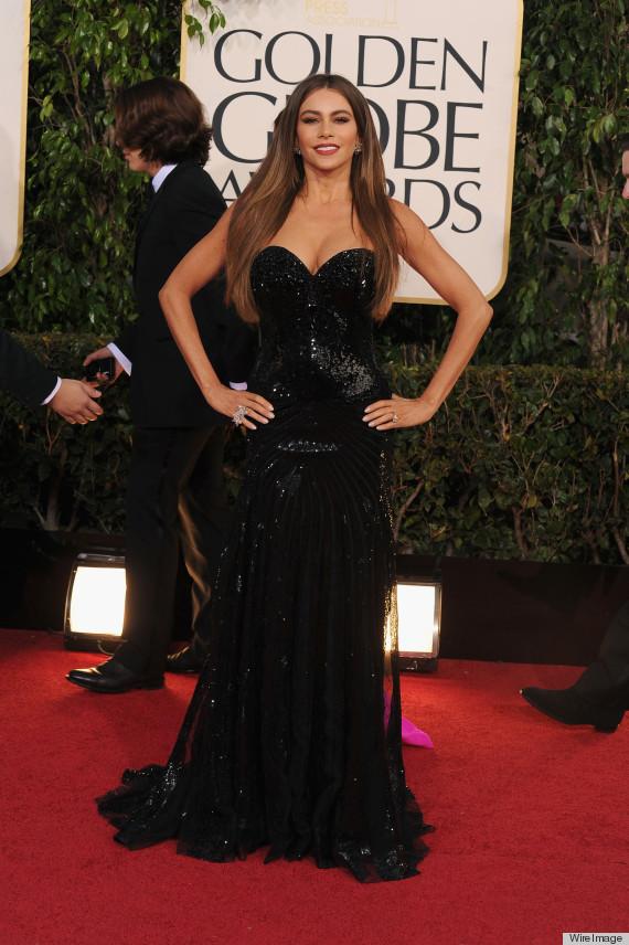 Sofia Vergara Golden Globes Dress 2013: See Her Red Carpet Look ...