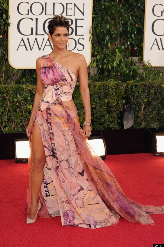 halle berry golden globes 2013