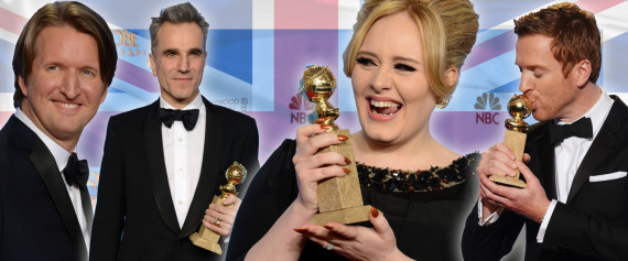 brits wins at the golden globes