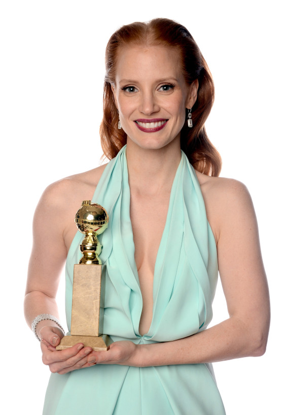 jessica chastain golden globes