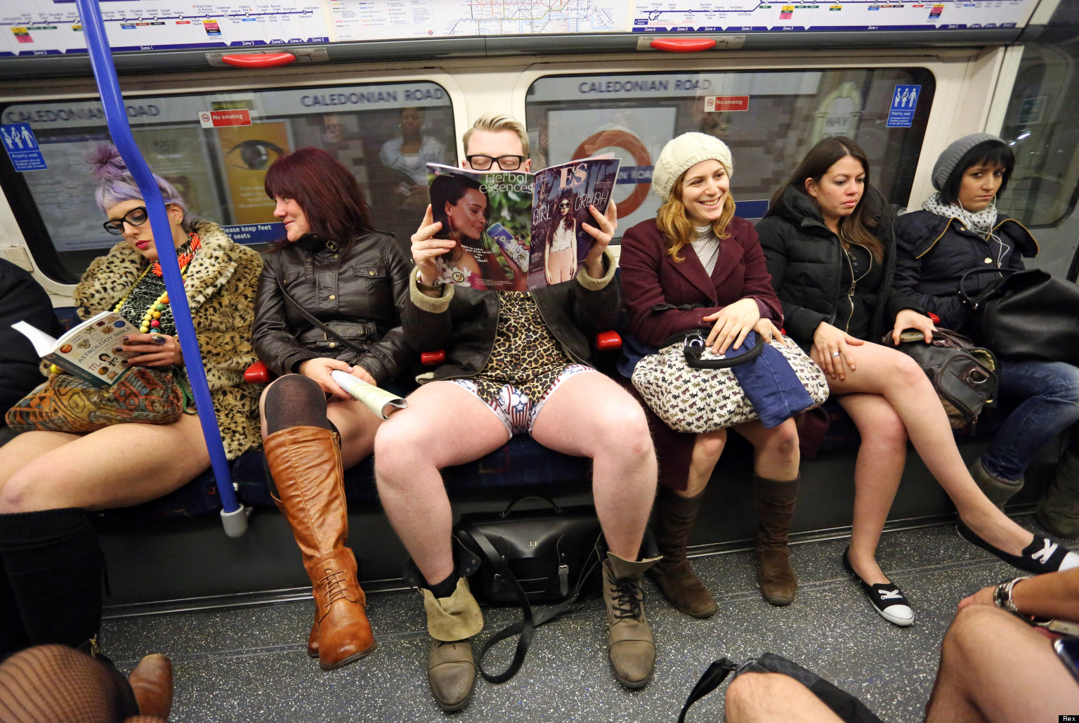 no pants on the tube day 2013 london underground is a