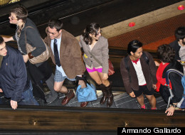 PHOTOS: This Weekend's Pantsless Metro Adventure
