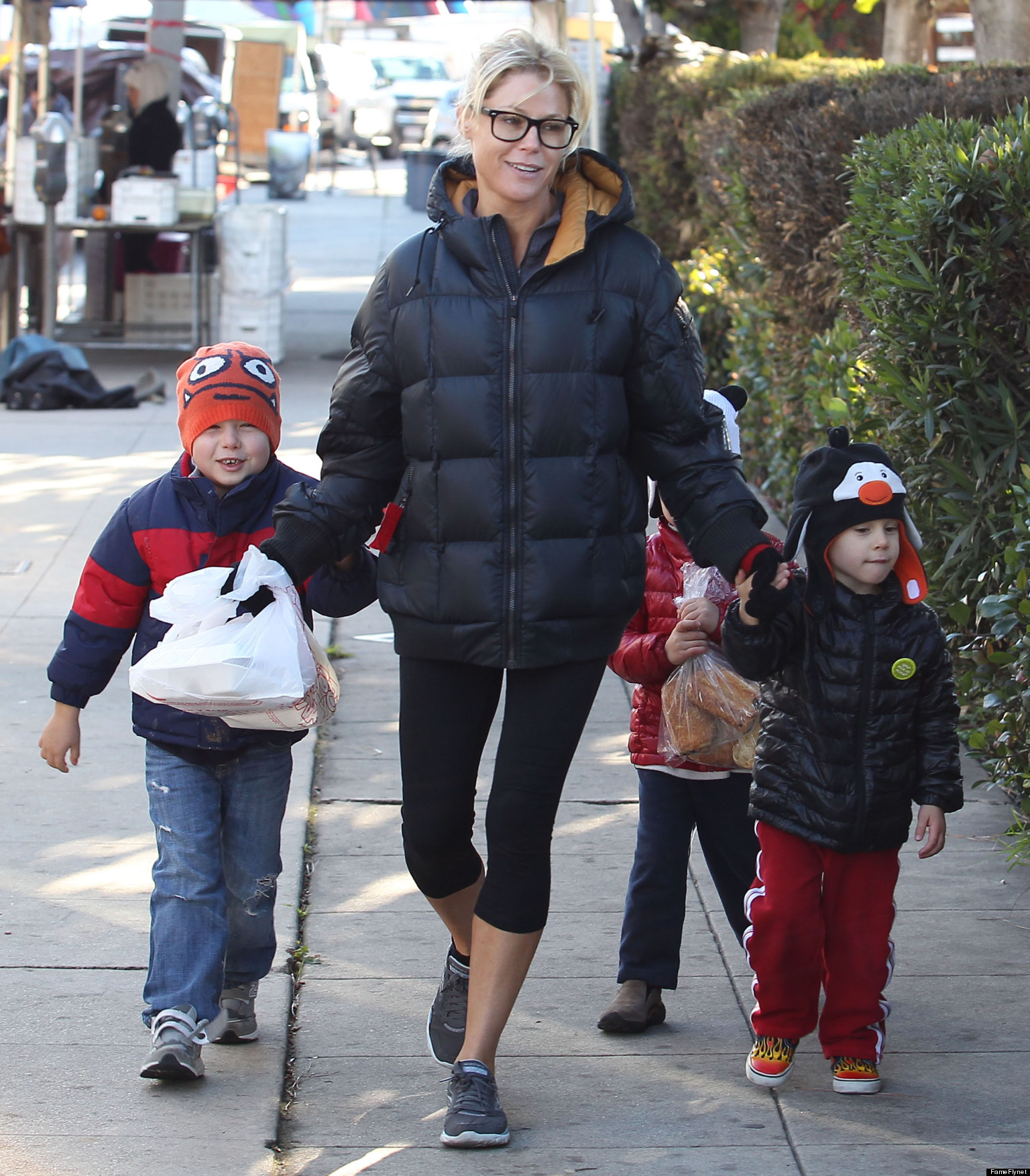 Julie Bowen's Kids Kept Her Busy Before She Hit The Red ...