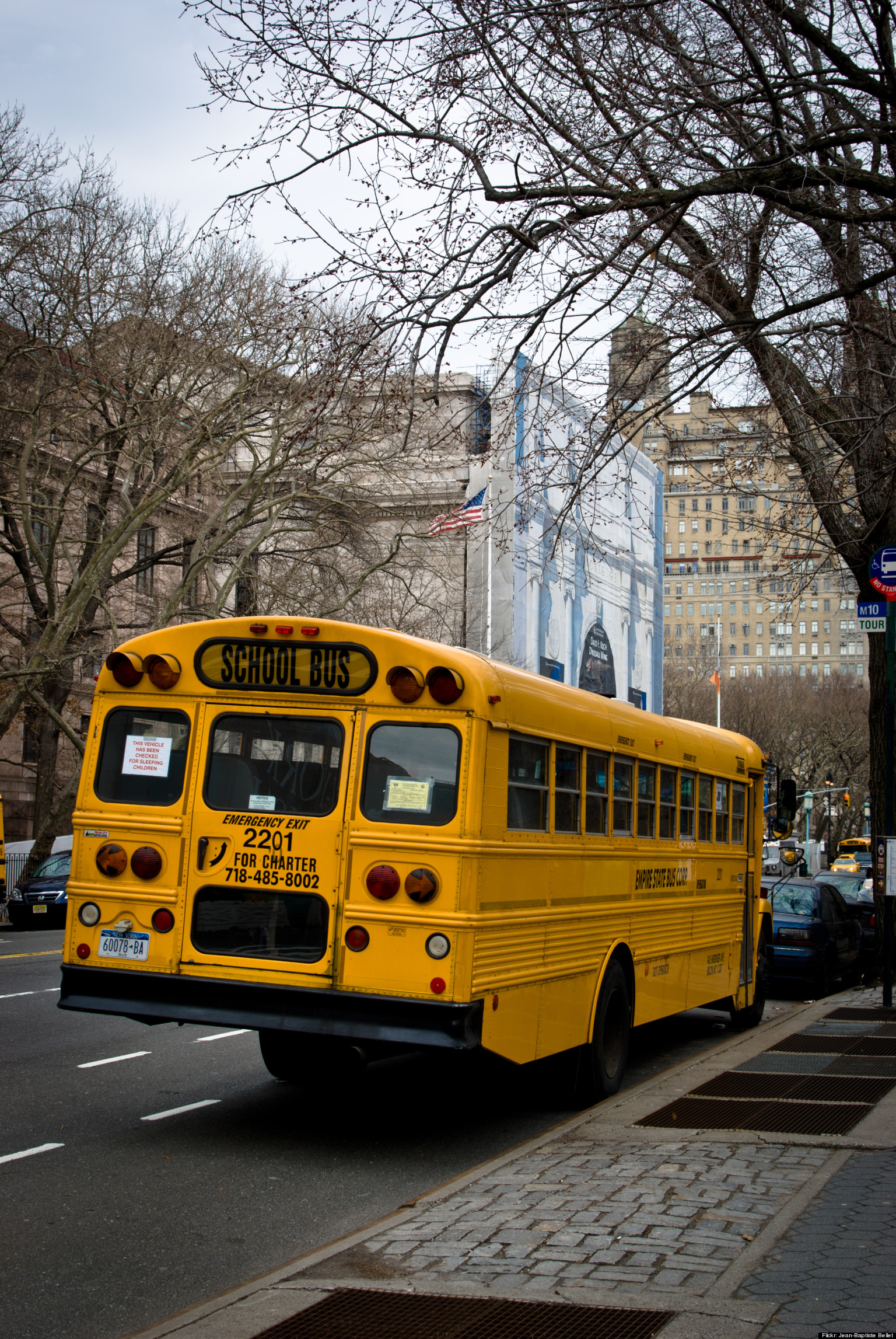 NYC School Bus Driver Strike Looms As Union Workers