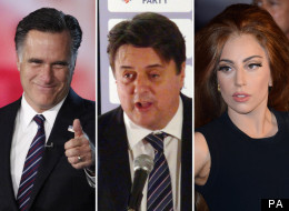 What Do Lady Gaga, Nick Griffin And Mitt Romney All Have In Common?