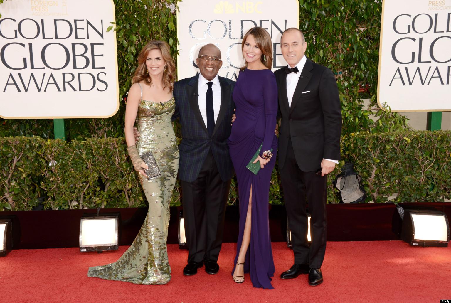 Today Anchors Shine At Golden Globes Photos Huffpost