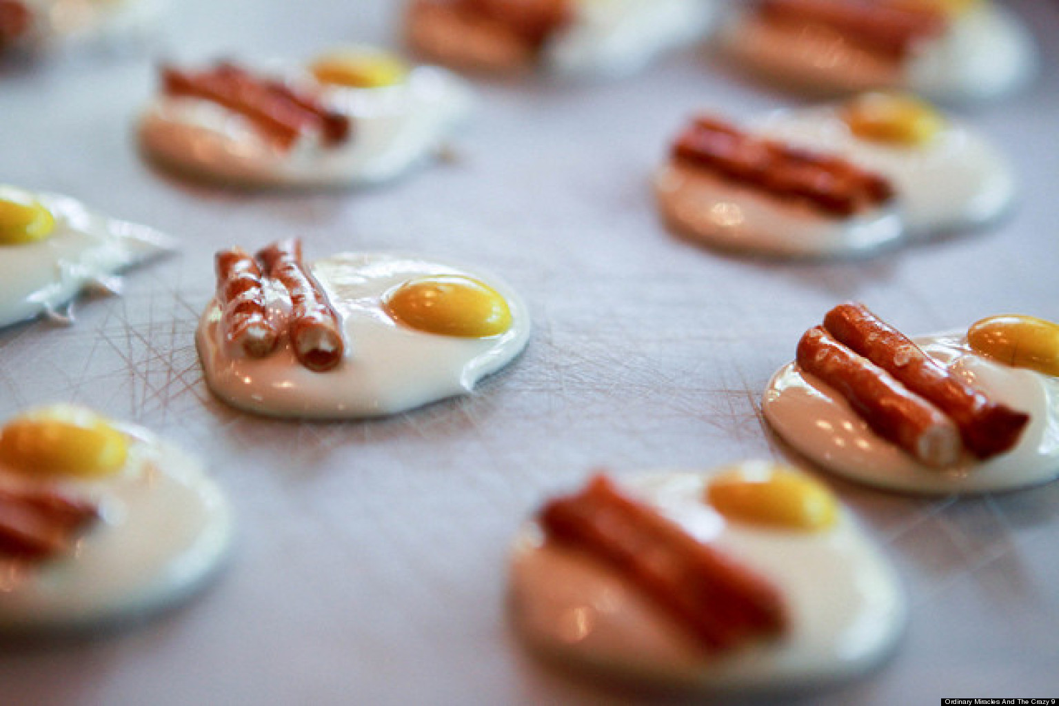 Bacon and eggs candy is adorable photo