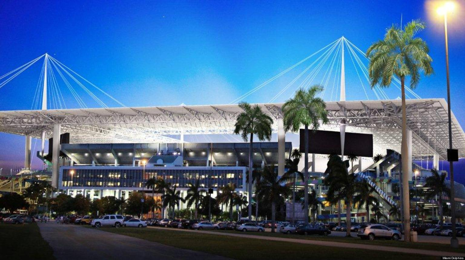 Sun Life Renovations : Miami dolphins unveil million renovation plan and