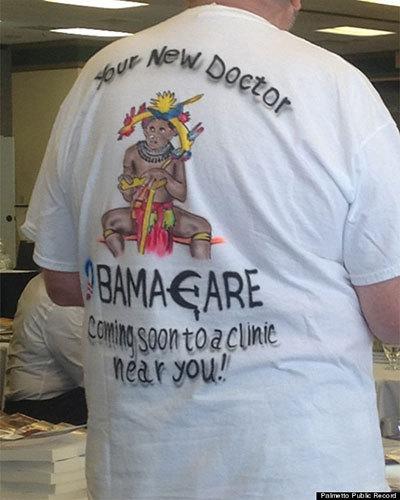 racist obama shirt