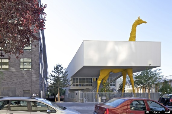 giraffe childcare center