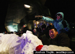WATCH: World's Largest Snowball Fight
