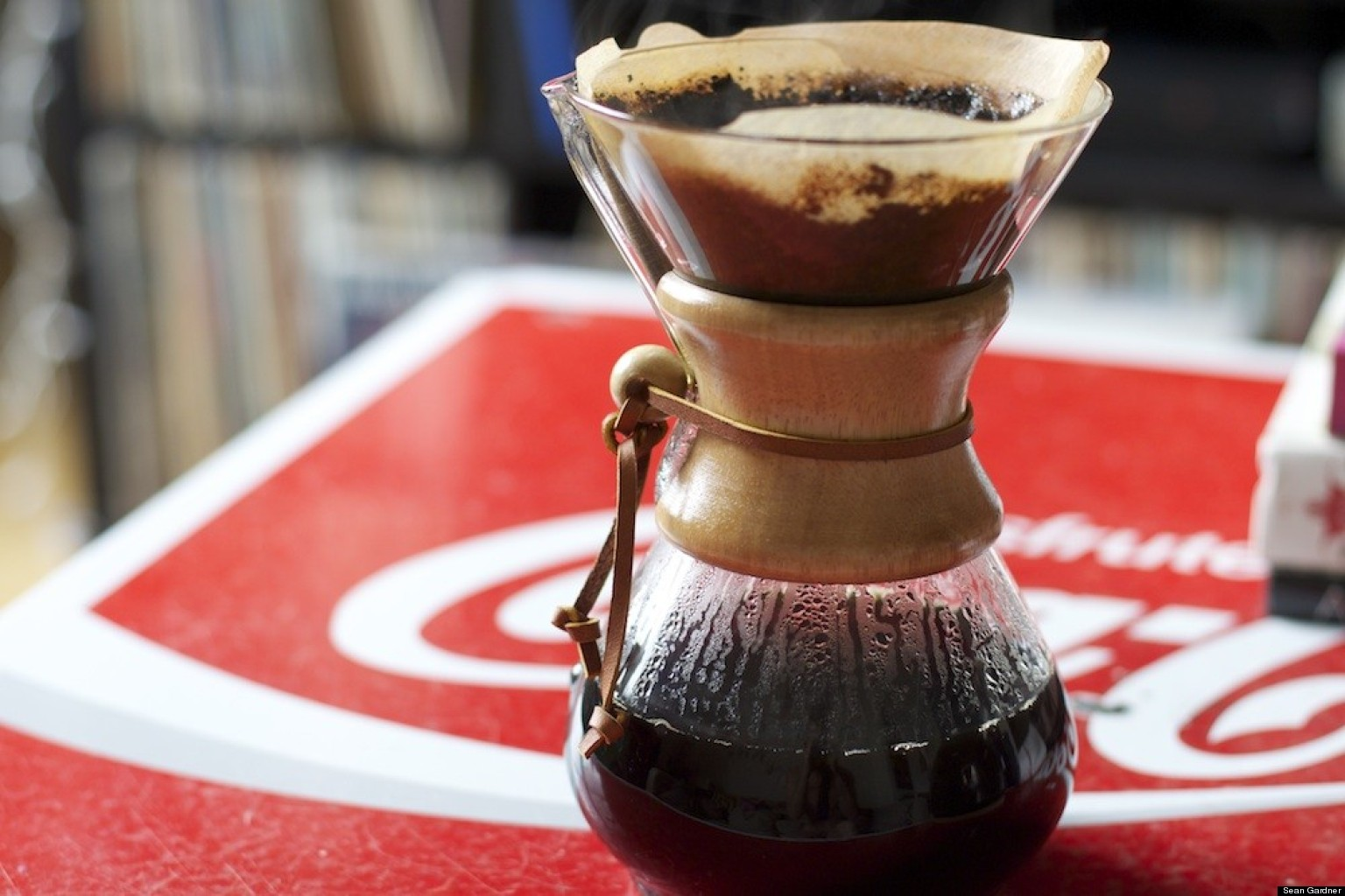 Chemex Coffeemaker: A Glass, Pour-Over, Coffee Nerd Black Hole HuffPost