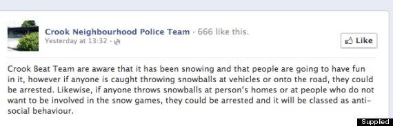 crook police