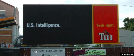 US INTELLIGENCE TUI AD