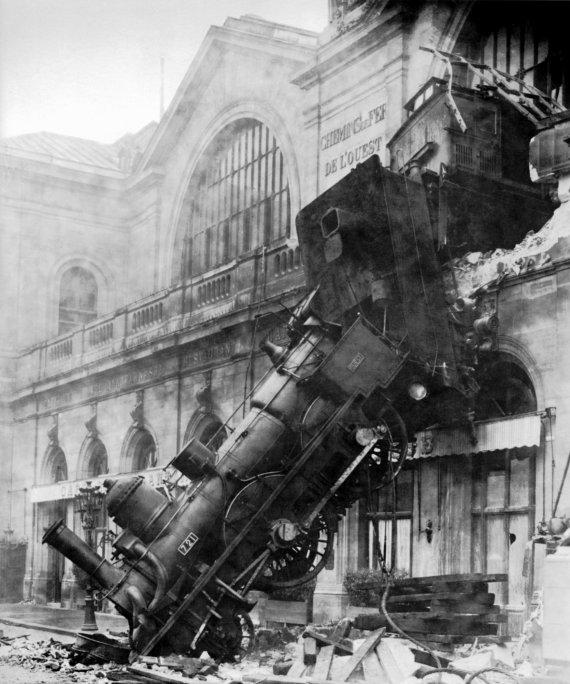 train montparnasse 1895