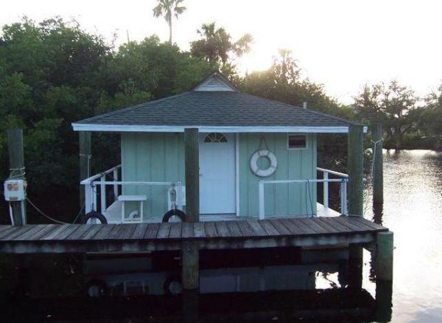 Floating Bungalow For Sale Offers Exotic Tiny Home Living In