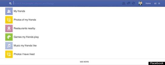 searchbox facebook