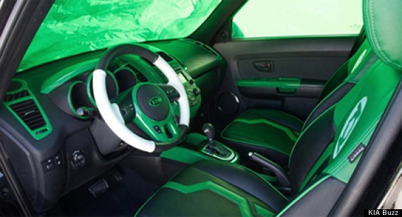 kia buzz green lantern