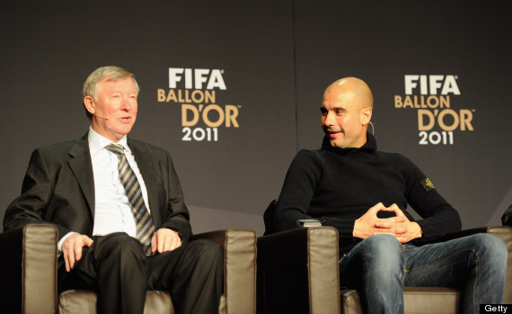 sir alex ferguson pep guardiola
