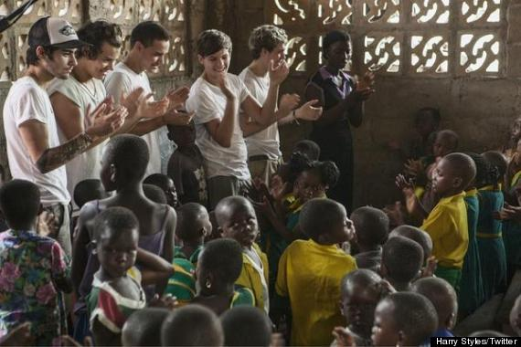 one direction comic relief