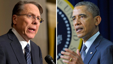 What do you think about the NRA statement to Obama's announcement of new measures to prevent gun violence?