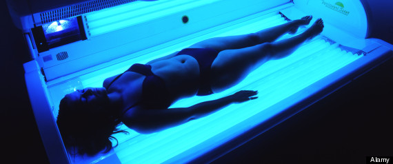 Radiation Risk Sunbed