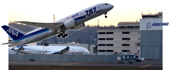 Boeing Dreamliner Grounded