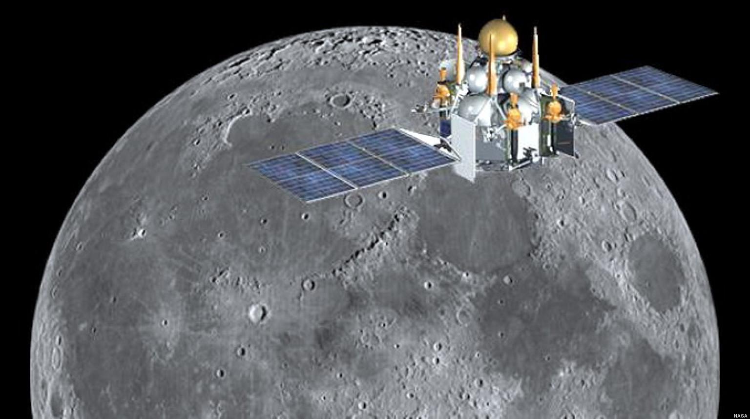 Russia Moon Probe Unmanned Luna Glob Spacecraft