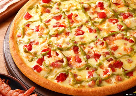 mayonnaise pizza dominos