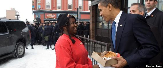 OBAMA BEAVERTAIL