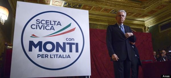 Mario Monti alle prese con la grana del sindaco di Forio D'Ischia