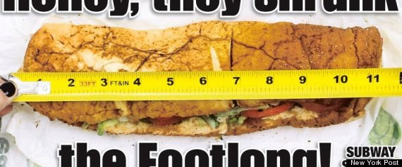 SUBWAY SANDWICH SCANDALE