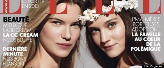 FRENCH ELLE MAGAZINE GAY MARRIAGE