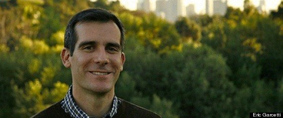 Eric Garcetti La Mayor