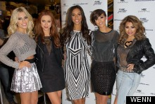 The Saturdays Promote New Reality TV Show In Barely-There Ensembles