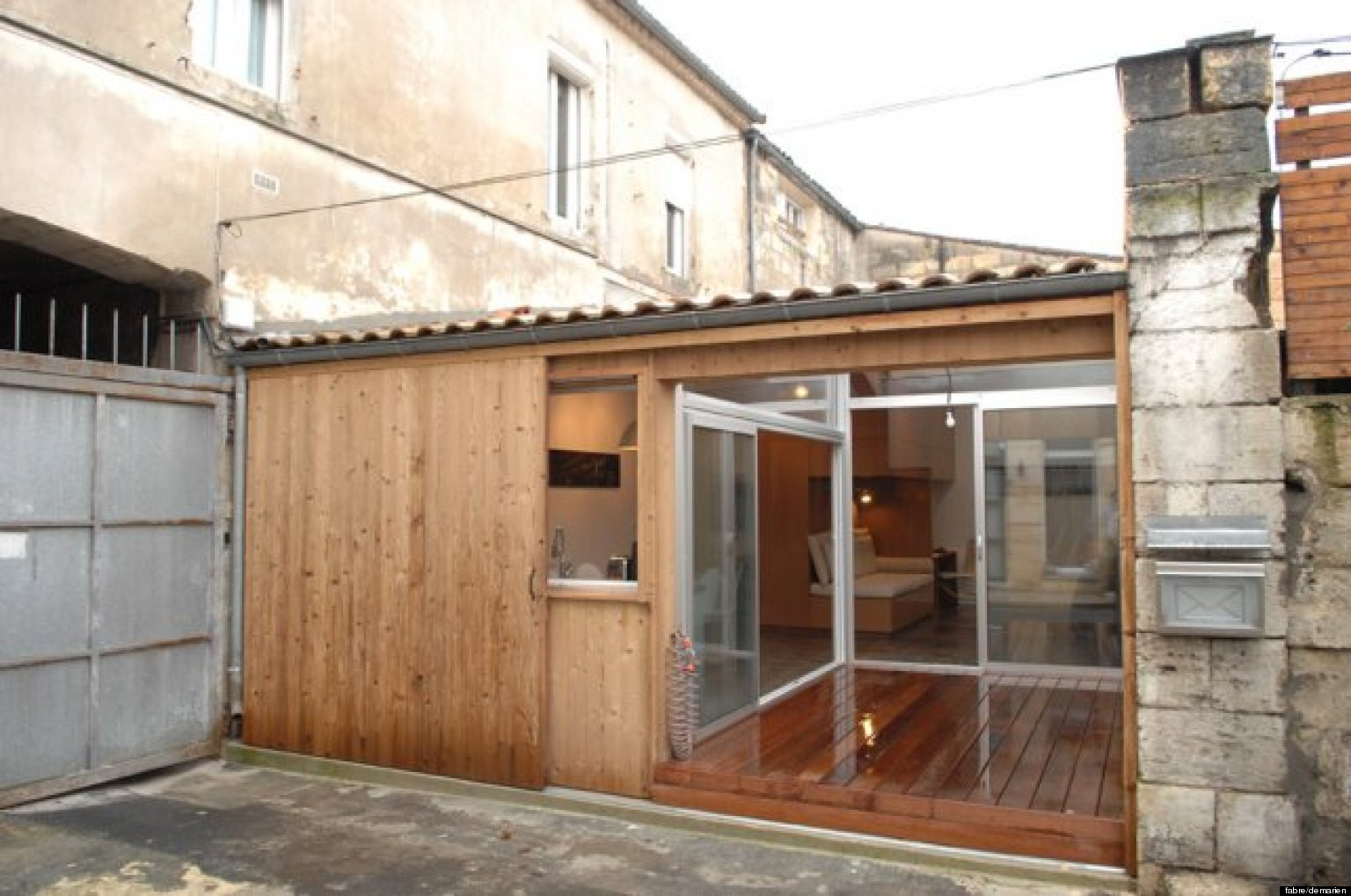 photos un garage transform en appartement par des