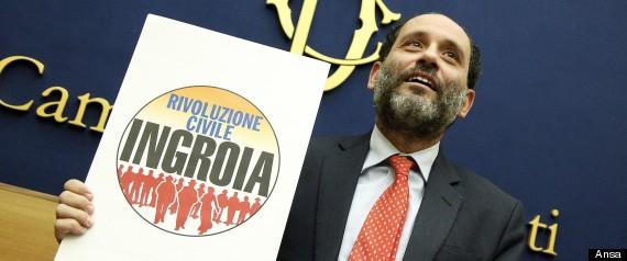 http://www.huffingtonpost.it-Elezioni 2013, nuovo sondaggio di Swg. Calano Pd e Sel, cresce il Pdl ma la vera sopresa è Antonio Ingroia, se si votasse oggi supererebbe la soglia di sbarramento alla Camera