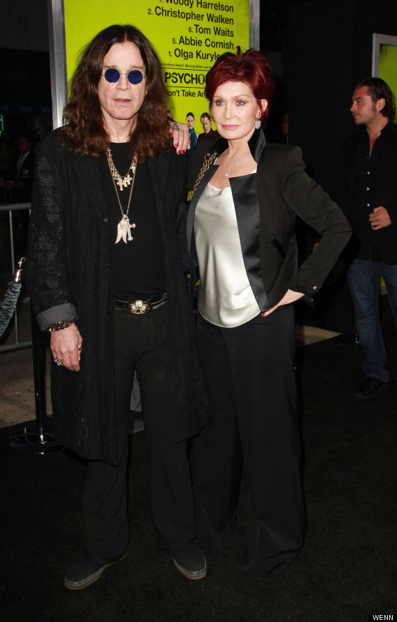 ozzy sharon osbourne fire