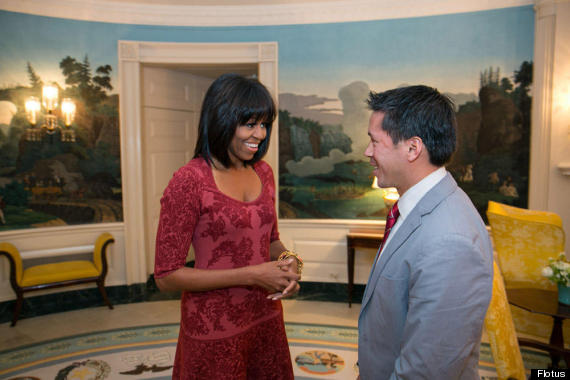 michelle obama flequillo