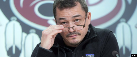 SHAWN ATLEO COUP OUSTER