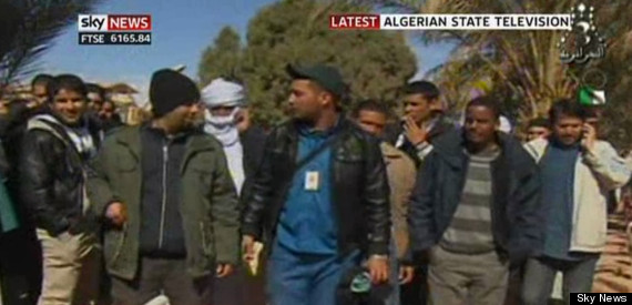 algeria hostages