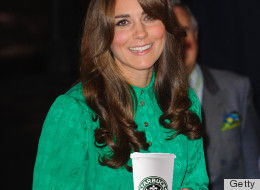Kate Middleton Starbucks