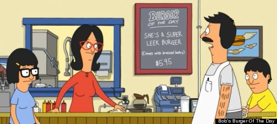 bobs burger of the day